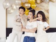 李冰冰攜外甥外甥女拍攝時尚大片 網友:基因強大
