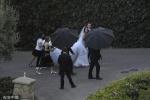 """""""星爵""""与施瓦辛格女儿娶亲 凯瑟琳身穿婚纱超美"""
