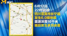 四川長寧發生6.0級地震 黃曉明張子楓朱一龍等人為災區祈福