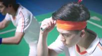 尽释前嫌携手赛场 CCTV6电影频道6月24日18:37播出《羽球英雄》
