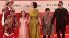 第22屆上海國際電影節閉幕紅毯 茅盾文學獎獲得者阿萊亮相