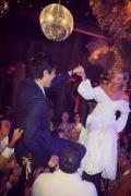 小KK牛仔主题婚礼派对 生果姐及未婚夫奥兰多出席