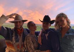 小KK牛仔主題婚禮派對 水果姐及未婚夫奧蘭多出席