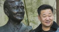 薪火相传!王景春捐赠赵丹先生铜像落成揭幕仪式