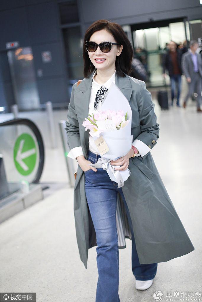 40+女星颜值超能打!穿旗袍最美机场私服也迷人诱惑喷鼻水
