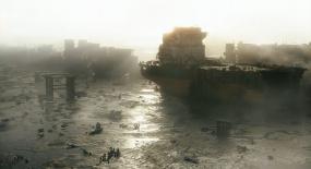 末日人类重回地球,海啸每天席卷大地2次,地表已有新文明!