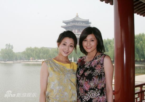 [图]藤原纪香专访殷桃 中日双姝共游芙蓉园