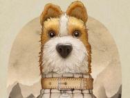 《犬之岛》中国风系列海报 众汪灵动诗意萌化人心
