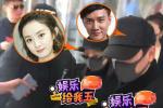 赵丽颖产后出院全副武装起色佳 冯绍峰牵手开路