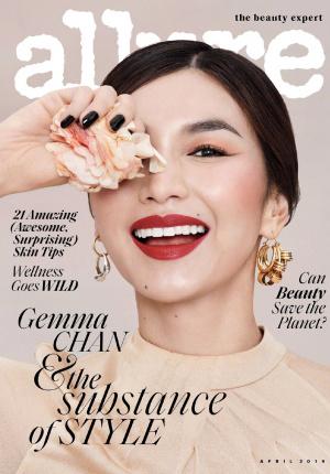 华裔女星嘉玛·陈登封美国杂志 高级脸演绎精致美妆