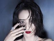 佟丽娅红唇黑裙深V大秀性感 妩媚气质冷艳撩人心