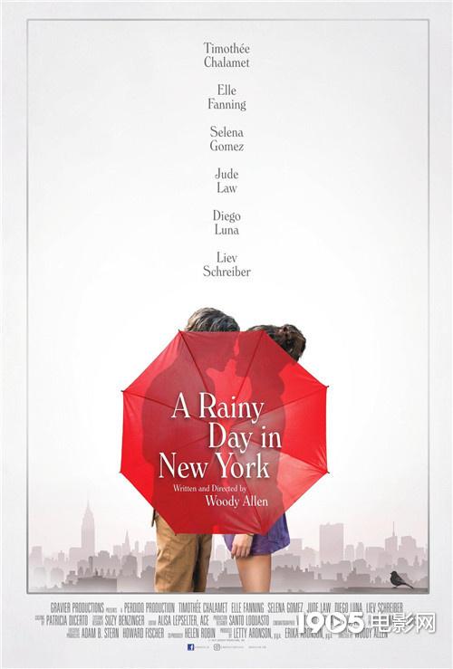 """""""甜茶""""吻戏!《纽约的一个雨天》首曝中字预告"""