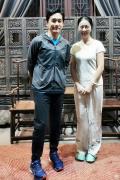 梁朝偉劉嘉玲蘇州看昆劇 兩人打扮低調夫妻相十足