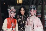 梁朝伟刘嘉玲苏州看昆剧 两人打扮低调夫妻相十足