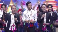 黄晓明和三丫兄弟合唱一首极具民族风情的《人走茶不凉》