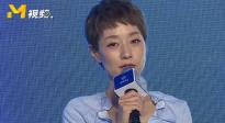 马伊琍紫衣白裙淡雅清新 透露9月份会有一部新戏播出