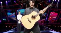 《脱贫攻坚战星光行动》第九期节目,张欣尧吉他舞萌翻全场!
