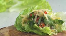 野木瓜能做菜?美食博主现场分享沙拉料理,口感略酸好吃到爆