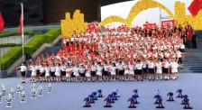 《我和我的祖国》首场电影发布 深圳小朋友与机器人共舞