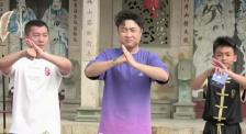 乔杉学打五祖拳浑身是戏!还不快来跟着学起来!