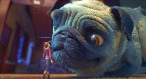 小女孩意外变小,差点被小狗当成狗粮,一部奇幻动画片