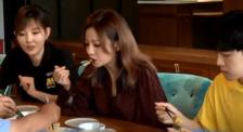 星光队员赵薇品尝黄花美食 吃播在线带货黄花