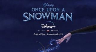 《冰雪奇緣》衍生短片《雪人往事》首款海報公布