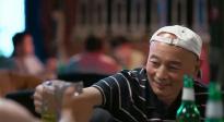 刘昊然彭昱畅上海宣传《一点就到家》 中国电影票房喜提100亿