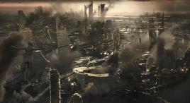 人类内战启用死灵机器人,不料毁灭性太强,全地球沦为死星