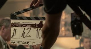 电影版的《唐顿庄园》公布片场照 聚会场景曝光